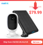 Reolink Argus 2 + Solar Panel $115.19 AUD Delivered via Reolink AliExpress