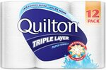 Quilton 3 Ply White Paper Towel (60 Sheets Per Roll), 12 Count, Pack of 12 $9.90 (Subscribe & Save) @ Amazon
