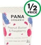 Pana Organic Dairy Free Ice Cream Tub 475ml Varieties $5.50 @ Woolworths