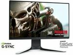 """Alienware AW2521HFL 25"""" IPS 1080p 240hz Freesync/G-Sync Compatible Monitor $504.74 Delivered @ Dell"""