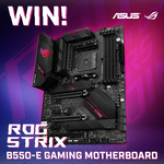 Win an ASUS ROG Strix B550-E Gaming Motherboard Worth $439 from PC Case Gear