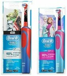 Oral B Vitality Precision Clean + Kids Frozen / Star Wars Electric Toothbrush $21.95 @ Harvey Norman