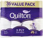 ALDI - Quilton 3 Ply Toilet Paper 36 Rolls/180 Sheets $13.99 + Full Catalogue