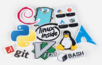 UnixStickers - Pro Pack (10 Stickers) $1 + Free Shipping @ Sticker Mule