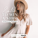 Win a $1,000 Voucher from Esther & Co