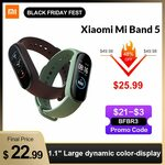 Xiaomi Mi Band 5 Chinese Version US$23.59 (~A$32.20) Delivered @ Xiaomi MC Store via AliExpress