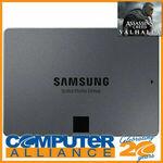 "2TB Samsung 2.5"" 870 QVO SATA 6Gb/s SSD MZ-77Q2T0BW (+ AC: Valhalla Key) $255.20 Delivered @ Computer Alliance eBay"