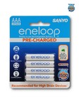 Sanyo Eneloop AAA LSD Rechargeable Batteries 1500 Cycle, 750mah - 8 PACK $26.95 + FREE Delivery