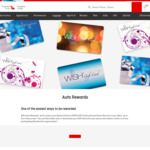 Qantas Frequent Flyer Auto Rewards for Discount Wish Cards eg $20 for 3000 Points