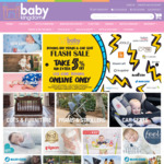 5% off Prams and Car Seats @ Baby Kingdom
