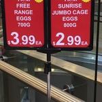 [VIC] 1 Dozen Free Range Eggs 700g $3.99 @ Colonial Fresh (Malvern Central)