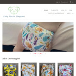 Resuable Cloth Nappies $21 Each When Buying 2+ (Was $30 Each) + $5 Delivery @ Only about Nappies
