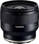 Tamron F051SF Lens Hood 24mm F/2.8 Di III OSD M1:2, Black $283.59 + Shipping ($0 with Prime) @ Amazon US via  AU