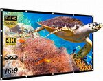 Yisiga 120 Inches Projector Screen $32.29 + Delivery ($0 with Prime/ $39 Spend) @ YISIGA Amazon AU