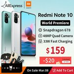 Xiaomi Redmi Note 10 US$164.40 (~A$215.46) & Redmi Note 10 Pro US$246.40 (~A$317.87) Delivered @ Hong Kong Goldway AliExpress