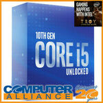[Afterpay] Intel Core i5-10600K CPU $263.20 Delivered @ Computer Alliance eBay