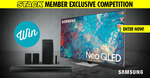 """Win a Samsung 75"""" QN85A Neo QLED 4K TV & Sound Bar Worth $5,948 from STACK"""