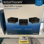 [VIC] NetGear Nighthawk MK63 AX1800 4 Stream Mesh Wi-Fi 6 System (3 Pack) $190 in-Store @ Officeworks (Selected Stores)