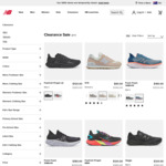 Extra 10% off Clearance Items at New Balance (413 Black Running Shoes $31.50, 708 Trainer $44.10) + $10 Delivery ($0 with $100+)