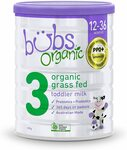[Back Order] Bubs Organic Stage 3 Formula 12-36months 800gm $8.40 + Delivery ($0 with Prime/ $39 Spend) @ Amazon AU