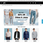 20% off Site Wide + Delivery ($0 C&C/ $80 Order) @ yd.