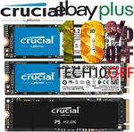 [eBay Plus] Crucial P1 SSD 1TB $120.70 (OOS), P2 SSD 1TB $127.50 Delivered @ gg.tech365 & Futu Online eBay