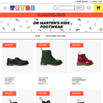 Kids Shoes for Sale up to 88% off: Dr Martens/Clarks/adidas/Nike/ASICS fr $20 (+Delivery/Spend $89 Delivered) @ The Trybe
