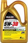 [Club Plus] Nulon 5W-30 Full Synthetic Engine Oil 6L $39.99 + Delivery ($0 C&C) @ Supercheap Auto