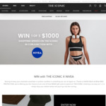 Win 1 of 3 $1000 The Iconic Gift Cards from The Iconic X Nivea