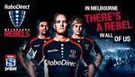 GA Tickets to Melbourne Rebels V Queensland Reds $10 (Were $25)