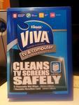 Viva TV & Computer Wipes Kit (15 Wetwipes + 1 Microfibre Cloth) $2.00 @ Australia Post RRP $9.95