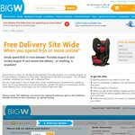 Spend $150 or More on The Big W Online & Get Free Delivery Site Wide. 16/08 to 19/08