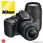 Nikon D5100 Twin Lens DSLR Kit 18-55mm & 70-300mm ~ $698.95 Delivered from ShoppingSquare