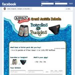 Kirks Original: Budgies Vs Boardies Promotion, MAMBO Boardies Free with $4.99 Postage