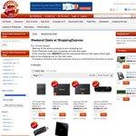 Buy 2 Free Shipping: HP N40L $219, Samsung 830 512GB SSD $389, 32GB SanDisk USB Drive $16 + More