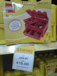 LEGO Brick Storage Carry Case Tool Box $15 (Was $25) @ Big W
