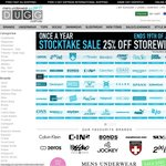 DUGG - Once a Year Stocktake Sale 25% OFF Store-wide