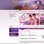 Thai Airways - Unannounced Sale? BNE to BKK $834.36