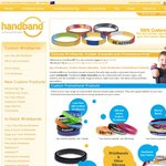 20% Discount on CUSTOM Silicone Wristbands & Other Silicone Products
