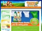 Free Orange Power concentrated laundry liquid