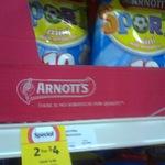 50% off 36-LED Extendable Worklight $9, Arnotts Sports Mini Arrowroot Pk10 230g 2-for-$4 @ Coles