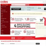 Coles Online: Free Delivery for Your First Order over $100 - NSW & ACT Only until 3rd November