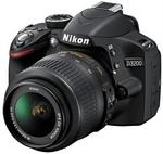 Nikon D3200 24.2MP DSLR 18-55VR Single Lens Kit $474 (after Cashback) @ JB Hi-Fi