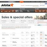 Jetstar Boxing Day Sale | Mel-Syd $29 | Syd-GC $35 | Mel-Hob $35 | Mel-Adel $39 | Syd-Tokyo $138