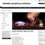 ASO FREE Concert - Santos Symphony under The Stars @ Elder Park Adelaide