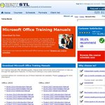 Free: Microsoft Office 2003/2007/2010 Training Manuals