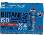 Butane Gas Cartridges (4 Pack) $3.19 (Save $0.80) @ SuperCheap Auto
