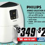 Philips Avance Collection AirFryer XL @ The Good Guys $349, $299 after CashBack from Philips