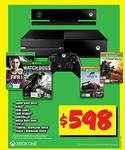 Xbox One with Kinect + Watch Dogs, Titanfall, FIFA 14 & Forza 5 for $598 + Delivery from JB Hi-Fi