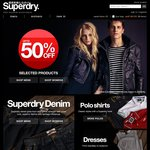 Superdry up to 50% off Sale, Free Delivery in Australia